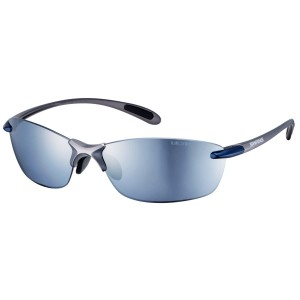 Airless-Leaf Fit ULTRA Lens Polaryzacja Mirror/ Gun Metallic Blue