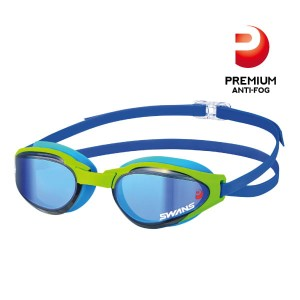 Ascender Mirror MIT Premium Anti-fog Flash Blue