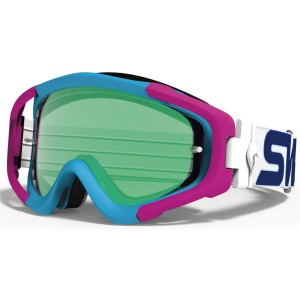 Gogle motocrossowe MX-TALON Emerald Mirror / BLUE&PINK